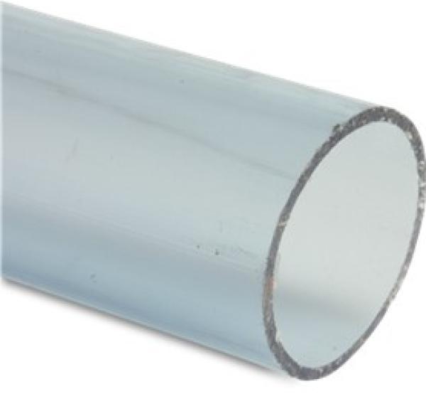 PVC Rohr transparent 40 mm 0,25 m